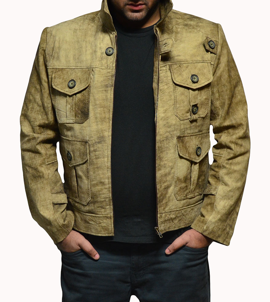 The Expendables 2 Jason Statham Lee Christmas Leather Jacket