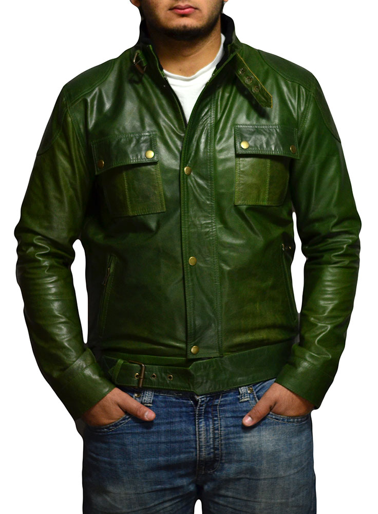 Wanted Wesley Gibson Leather Jacket