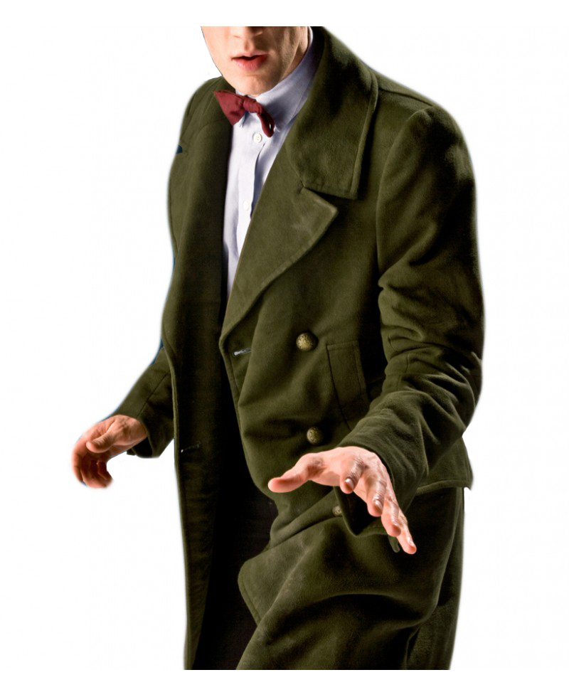 11th Matt Smith Doctor Who Coat