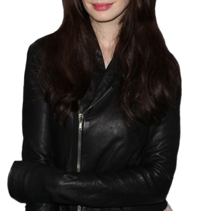 Anne Hathaway Party Black Jacket