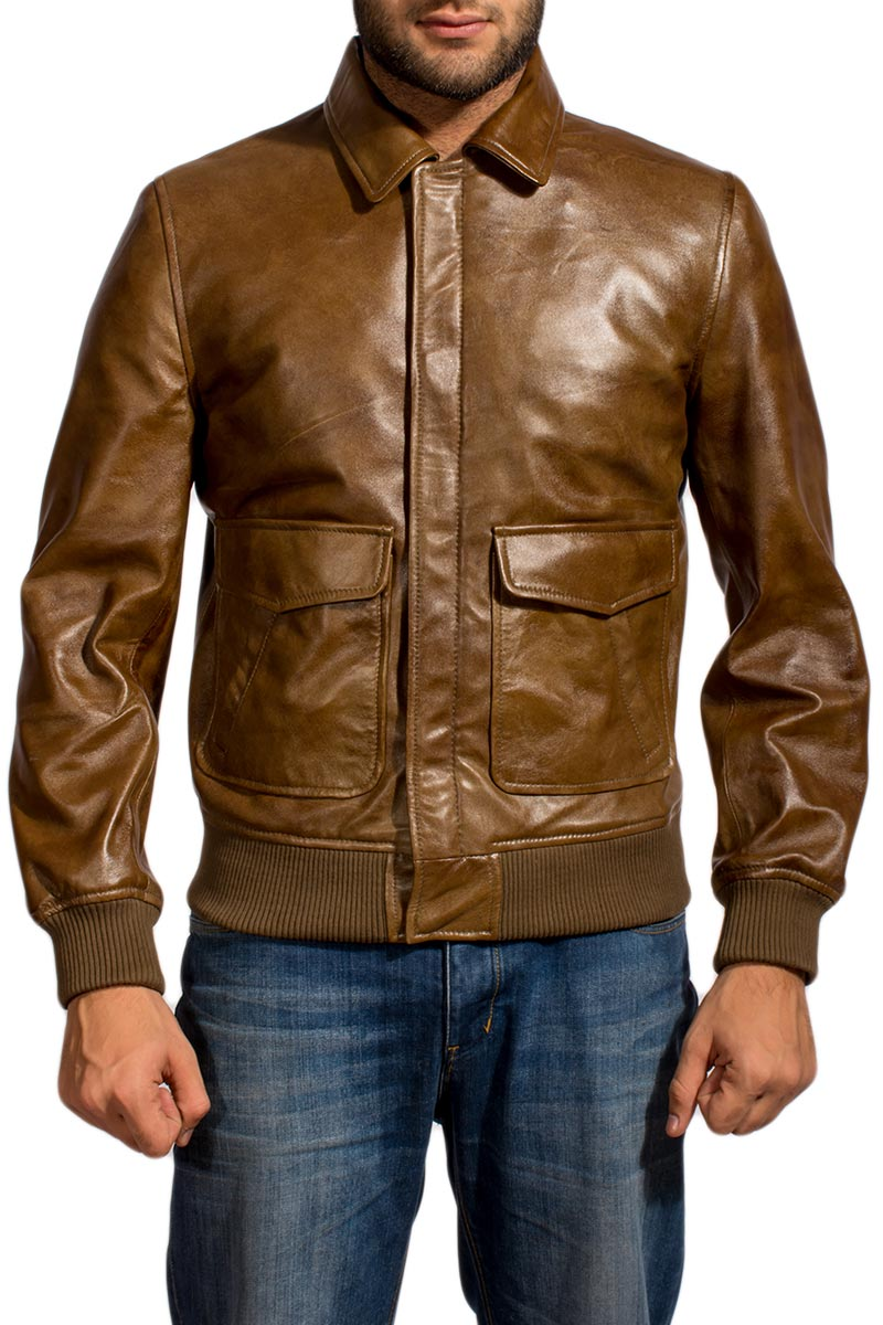 Ansel Elgort Leather Jacket