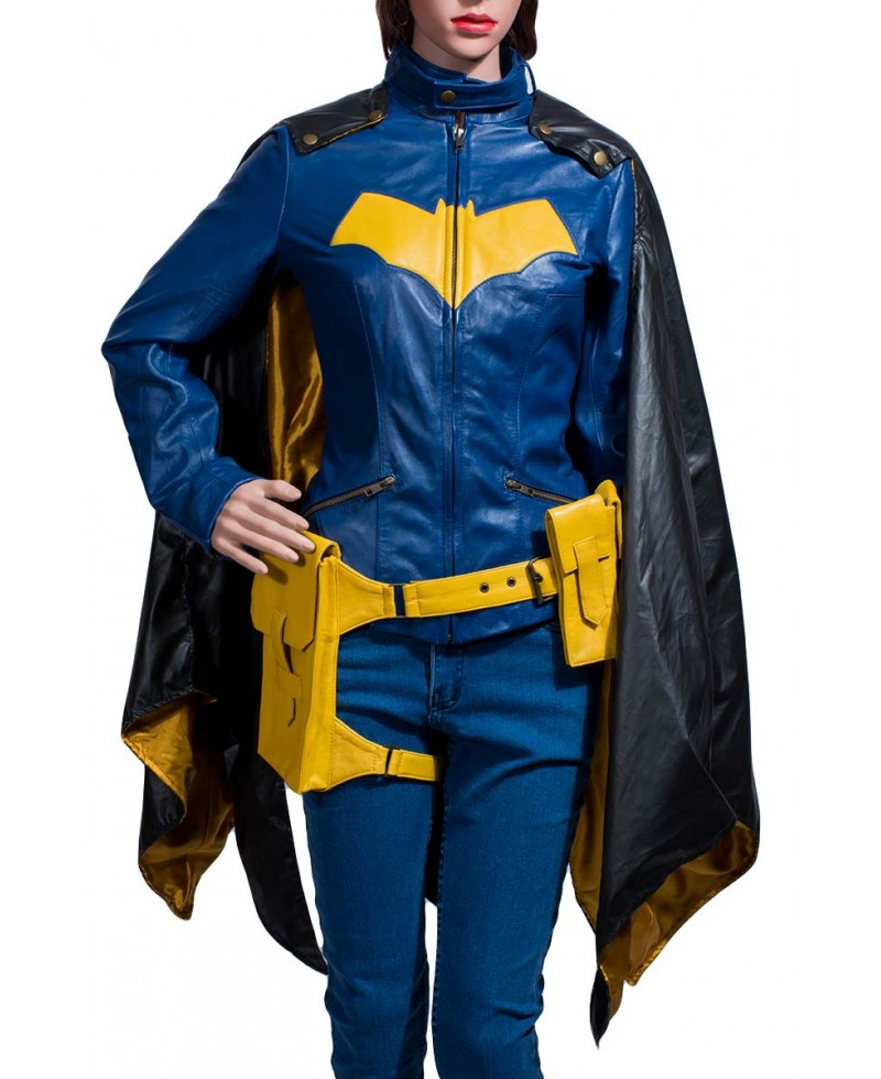 Batgirl Blue Jacket with Cape