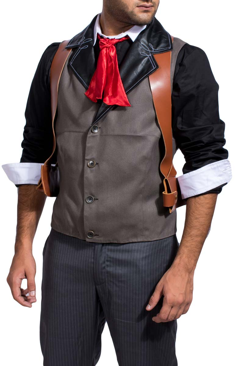 Booker DeWitt Bioshock Infinite Leather Vest