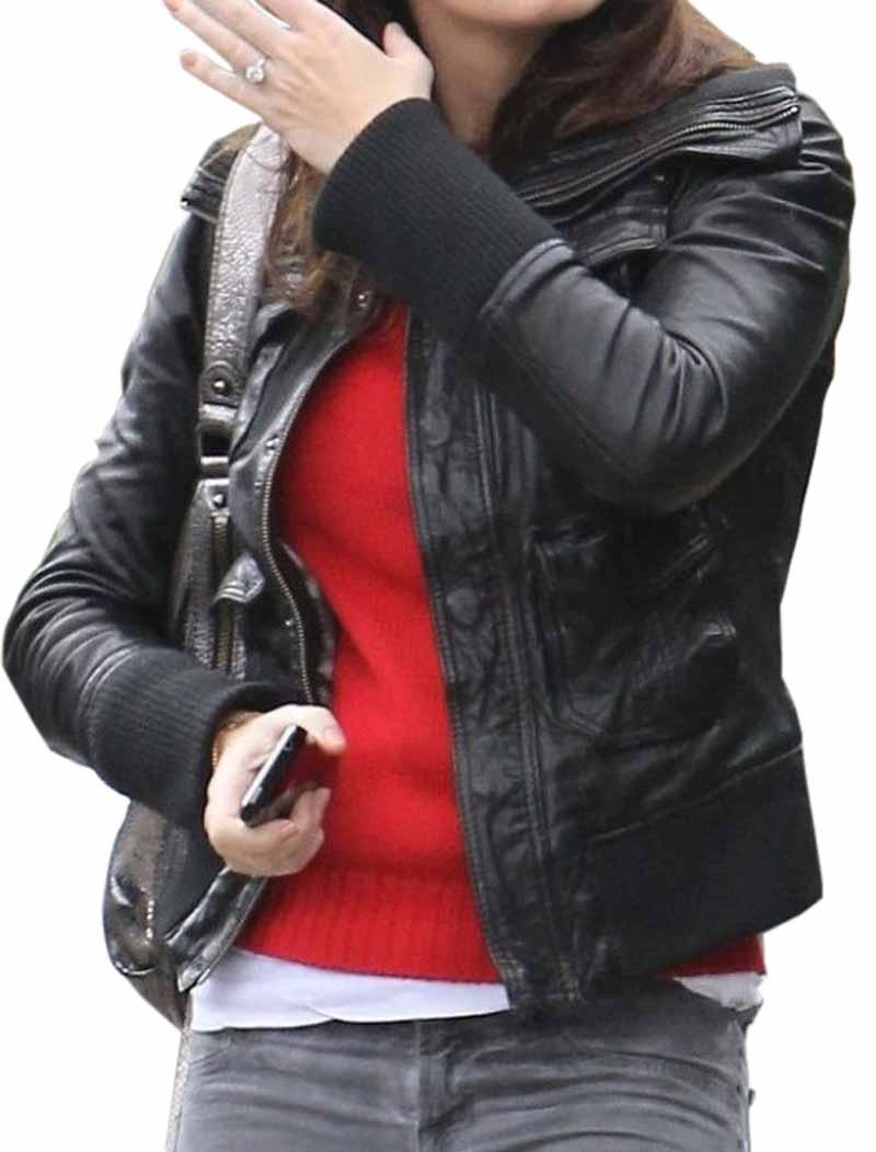 Emily Blunt Los Angeles Jacket