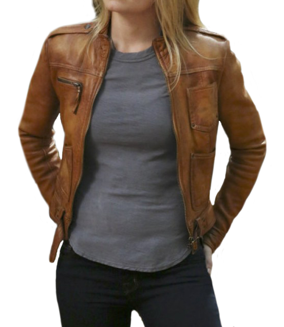 Brown Emma Swan Once Upon a Time Jacket