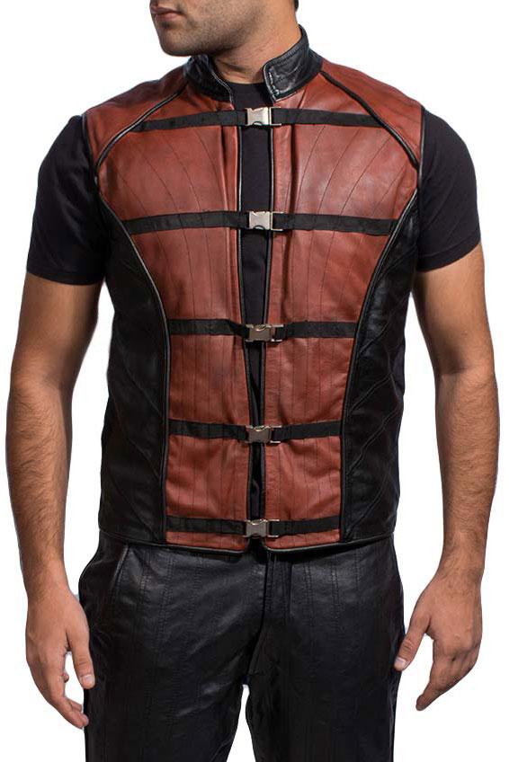 Bonfire Leather Vest