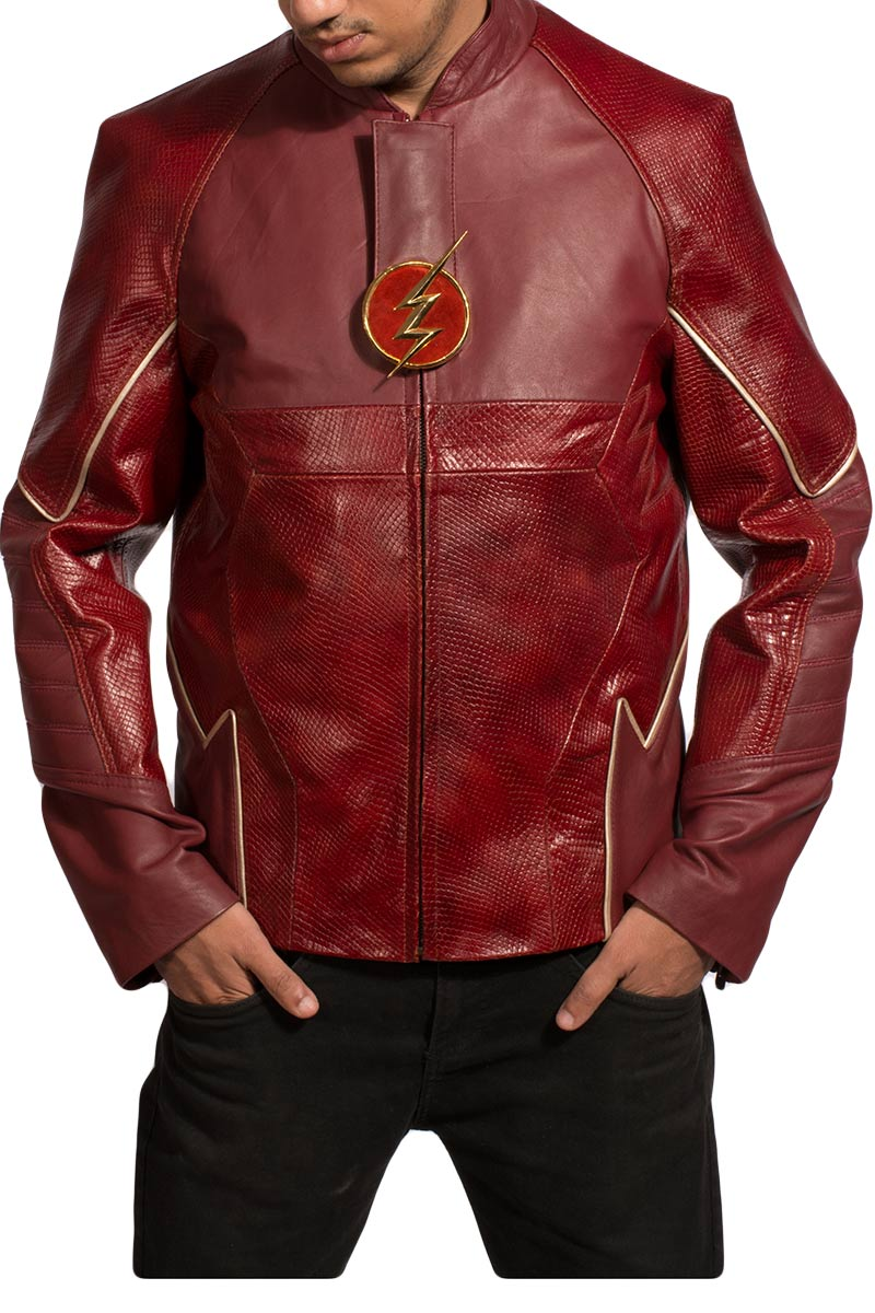 Red Lightening Jacket