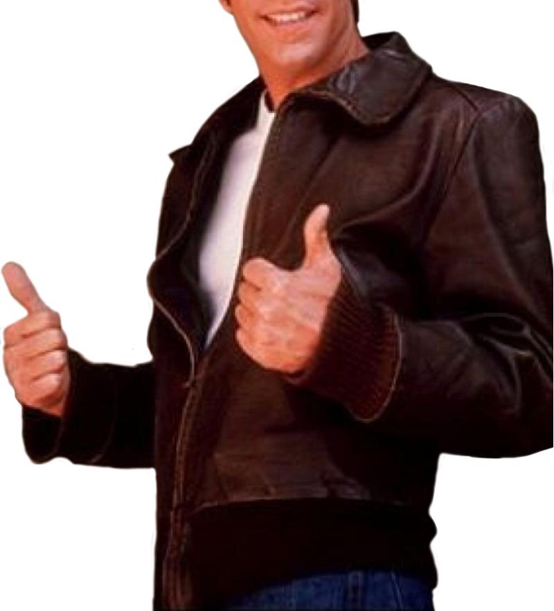 Brown Happy Days Fonzie Jacket