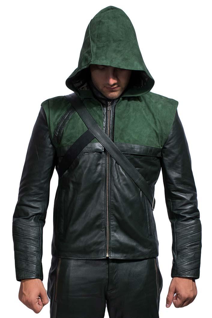 good on Autumn :) Emerald green, leather jacket green arrow, leather