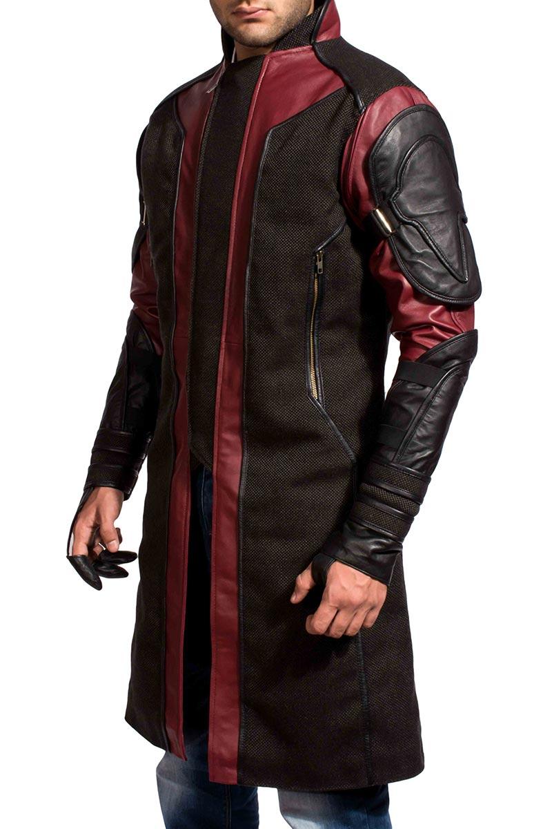 Avengers Hawkeye Coat- TheJacketMaker.com