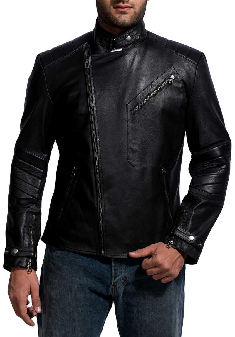 Classic Black Double Rider Jacket