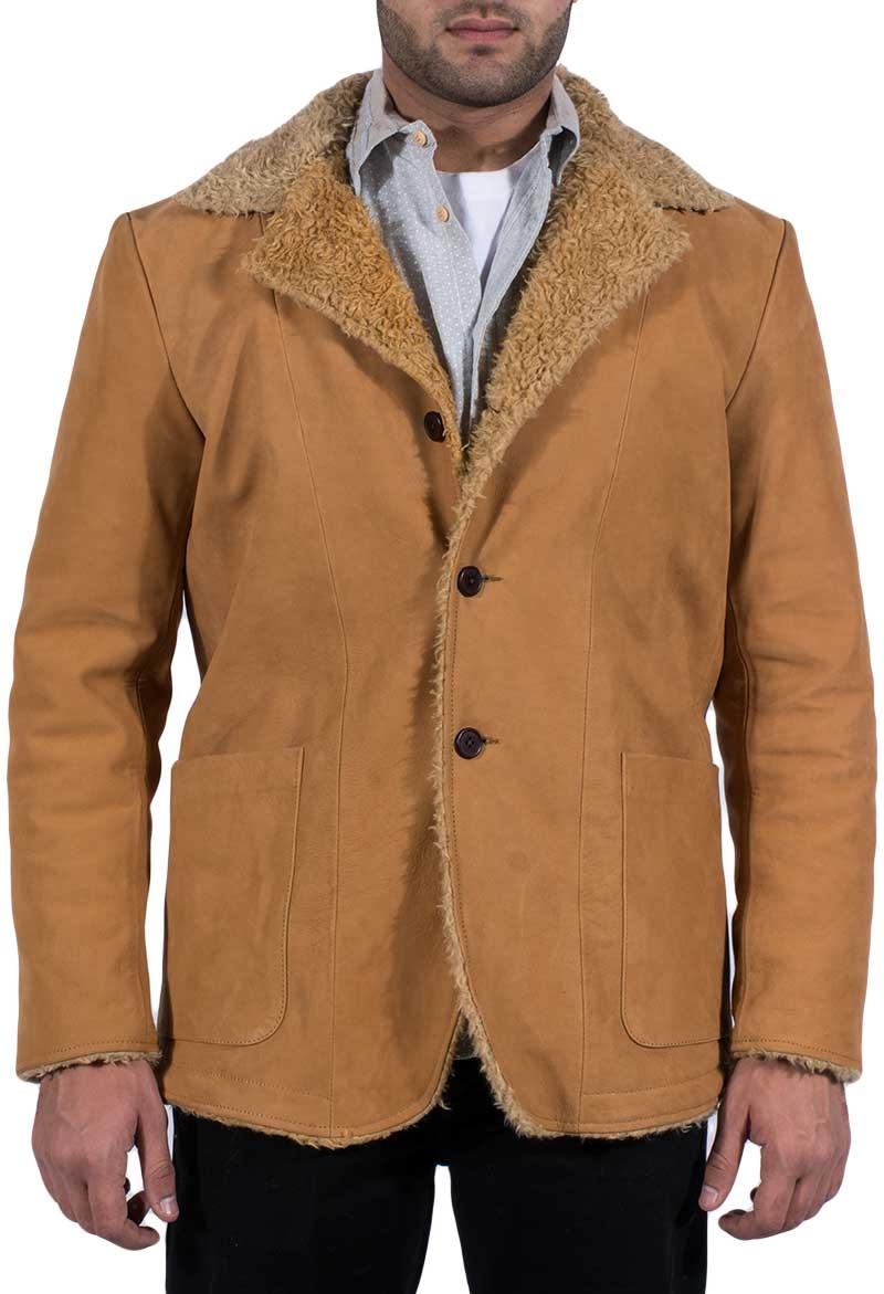 Classic Beige Fur Coat