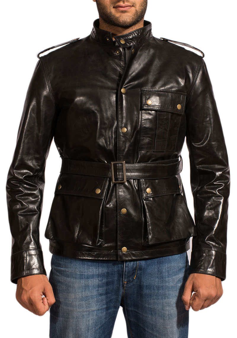 Cherry Blossom Leather Jacket