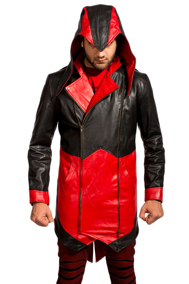 Assassins Creed Red & Black Jacket