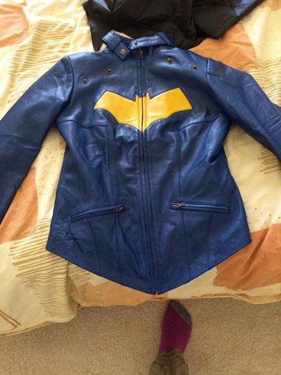 Batgirl Blue Jacket with Cape