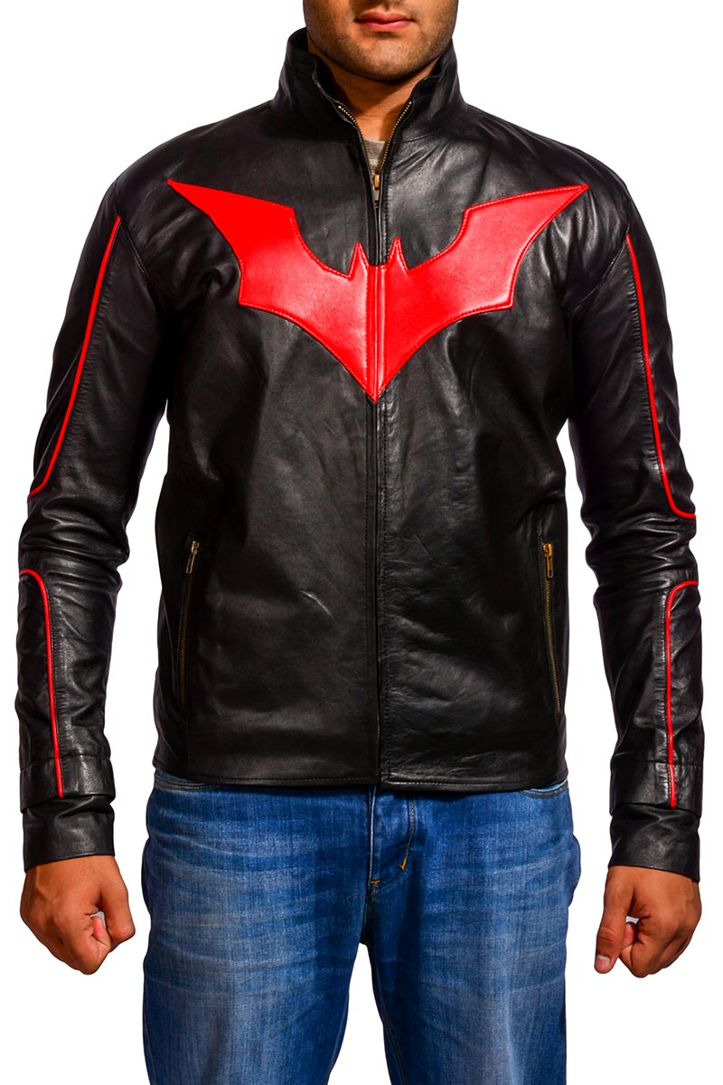 Batman Beyond Red and Black Jacket