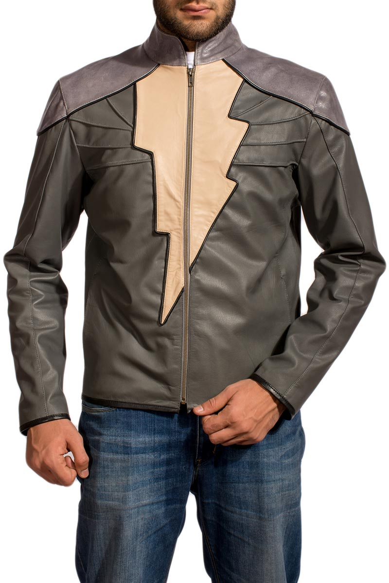 Black Adam Injustice Leather Jacket