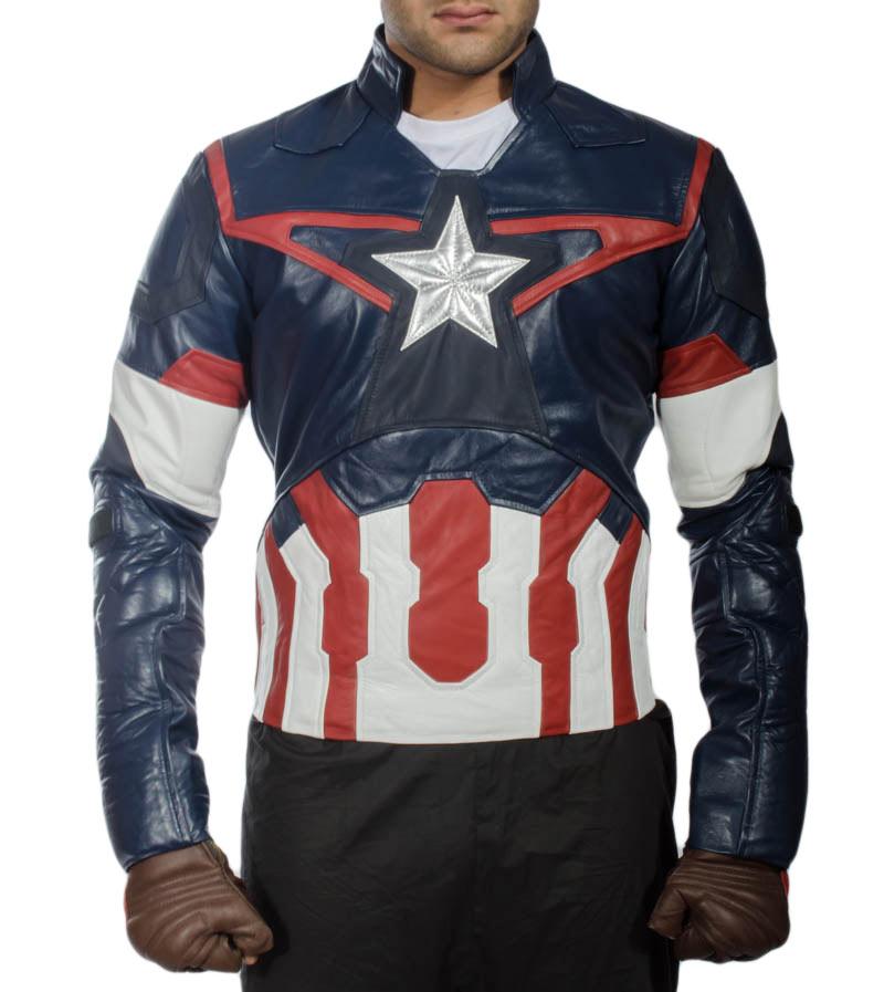 Avengers Age Of Ultron Captain America Jacket