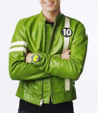 Ben 10 Alien Swarm Leather Jacket