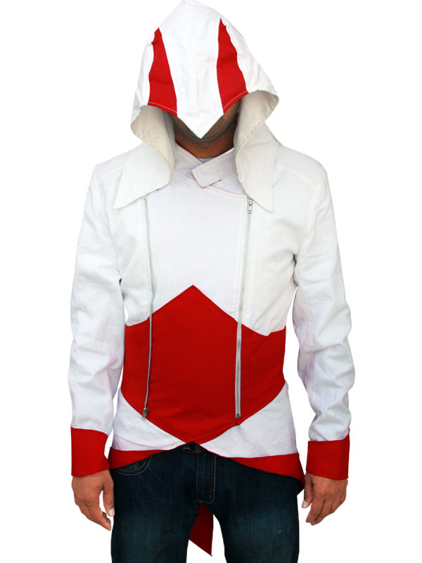 Assassins Creed  Red and White Jacket