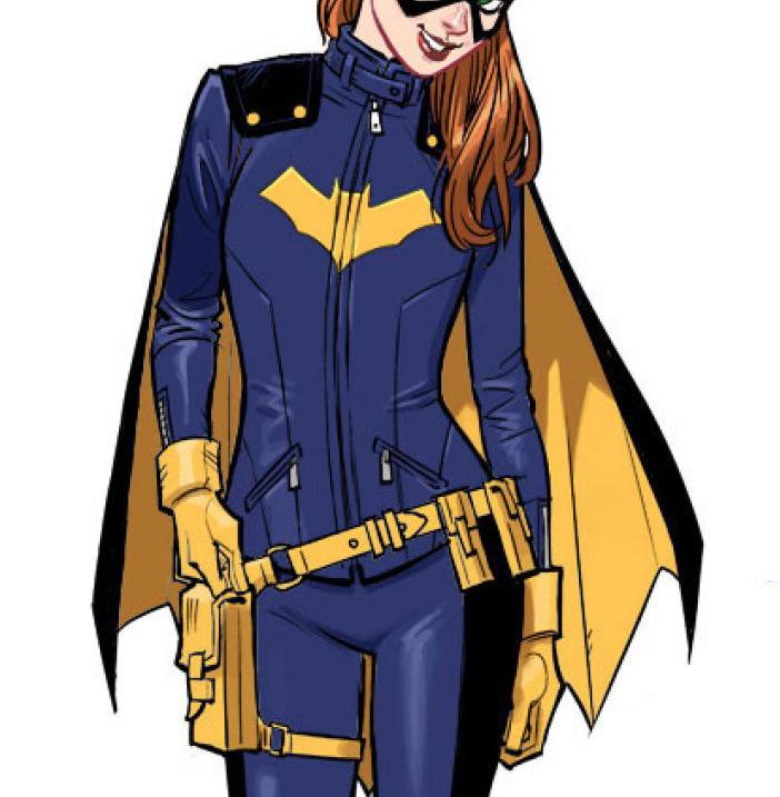 Batgirl Blue Jacket