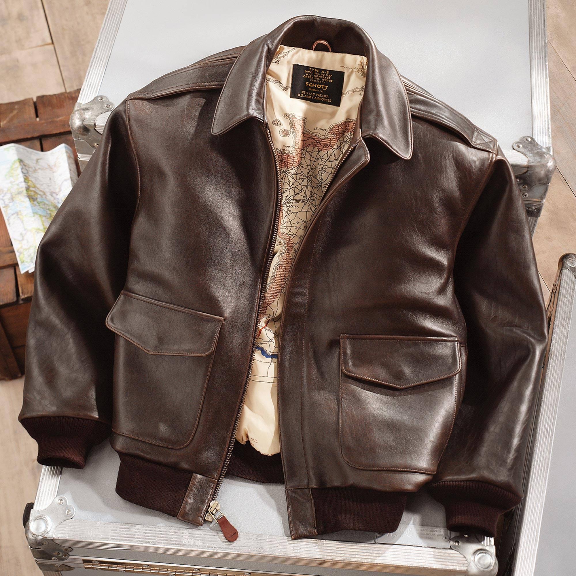 PLD Women A-2 Black Leather Bomber Jacket